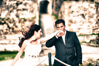 Greek Wedding, Kerkyra, Greece